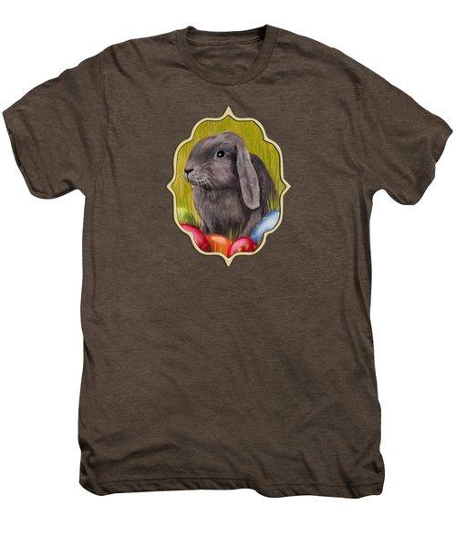 Easter Bunny Men's Premium T-Shirt by Anastasiya Malakhova