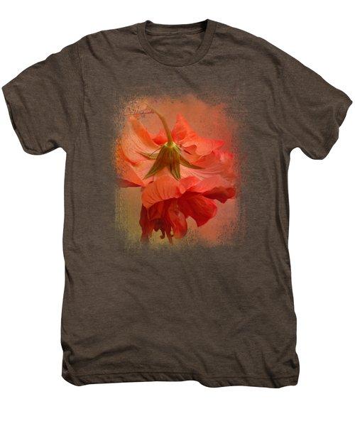 Falling Blossom Men's Premium T-Shirt by Jai Johnson