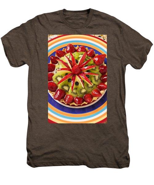 Fancy Tart Pie Men's Premium T-Shirt by Garry Gay