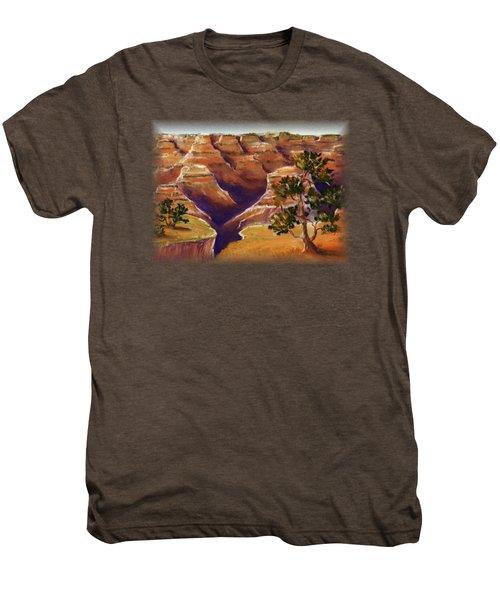 Grand Canyon Men's Premium T-Shirt by Anastasiya Malakhova