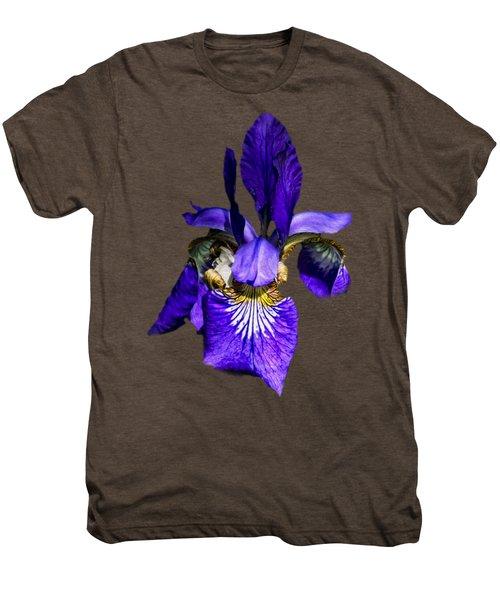 Iris Versicolor Men's Premium T-Shirt by Mark Myhaver