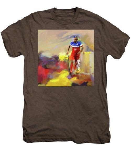 Landon Donovan 545 1 Men's Premium T-Shirt by Mawra Tahreem