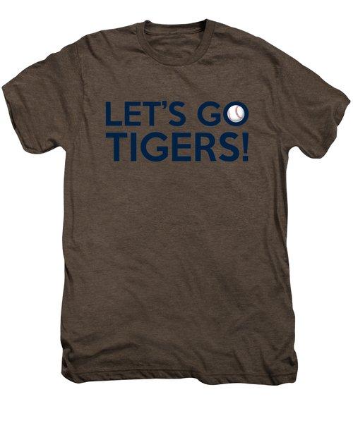 Let's Go Tigers Men's Premium T-Shirt by Florian Rodarte