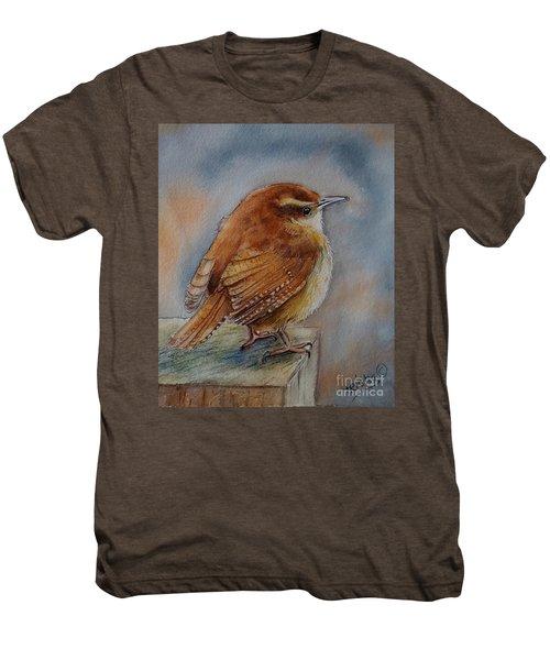 Little Friend Men's Premium T-Shirt by Patricia Pushaw