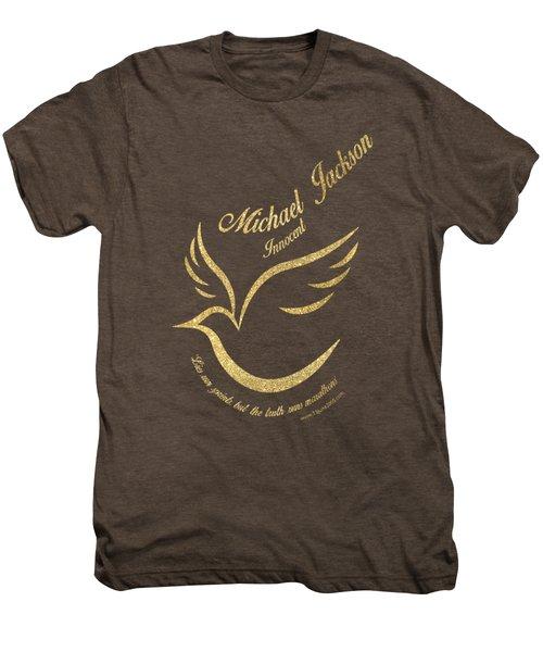 Michael Jackson Golden Dove Men's Premium T-Shirt by D Francis