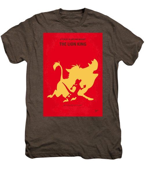 No512 My The Lion King Minimal Movie Poster Men's Premium T-Shirt by Chungkong Art