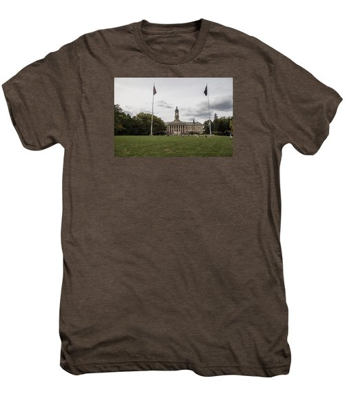 Old Main Penn State Wide Shot  Men's Premium T-Shirt by John McGraw