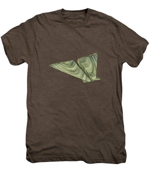 Paper Airplanes Of Wood 19 Men's Premium T-Shirt by YoPedro