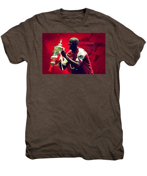 Patrick Vieira Men's Premium T-Shirt by Semih Yurdabak