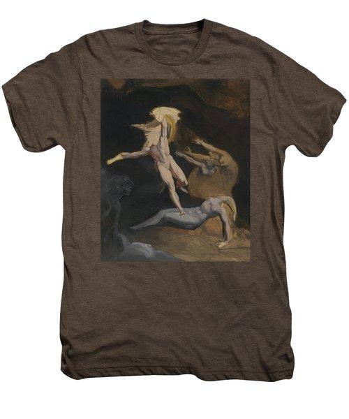 Perseus Slaying The Medusa Men's Premium T-Shirt by Henry Fuseli