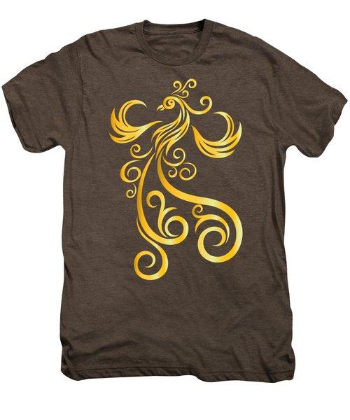 Phoenix Men's Premium T-Shirt by Martinus Sumbaji