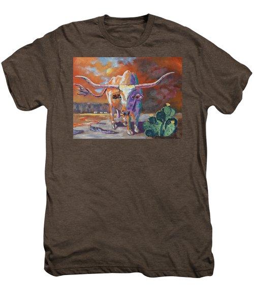 Red River Showdown Men's Premium T-Shirt by J P Childress