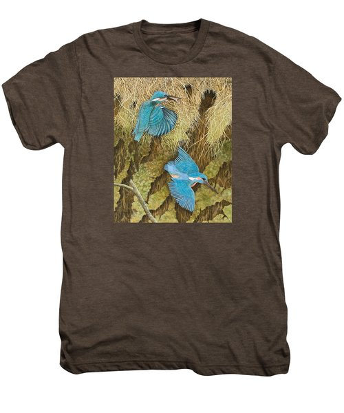 Sharing The Caring Men's Premium T-Shirt by Pat Scott