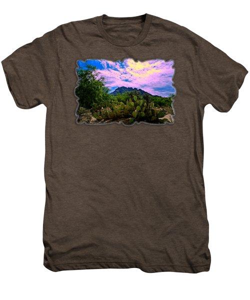 Sonoran Morning H54 Men's Premium T-Shirt by Mark Myhaver