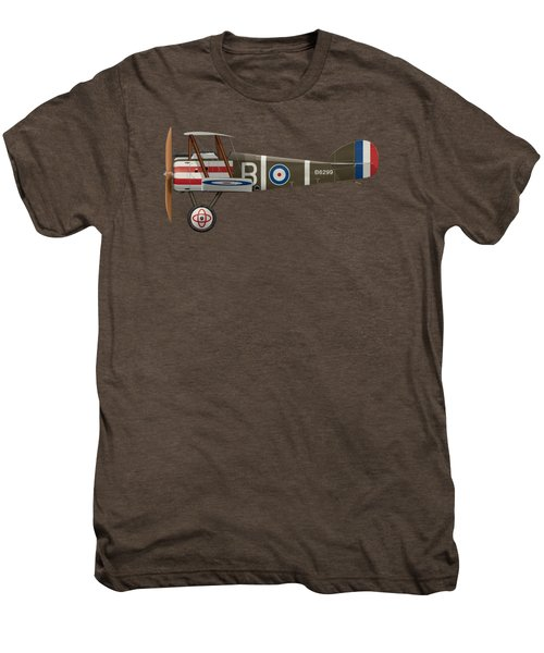 Sopwith Camel - B6299 - Side Profile View Men's Premium T-Shirt by Ed Jackson
