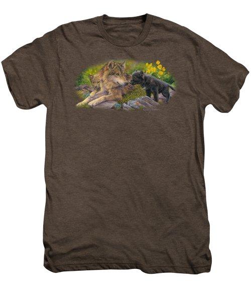 Unconditional Love Men's Premium T-Shirt by Lucie Bilodeau