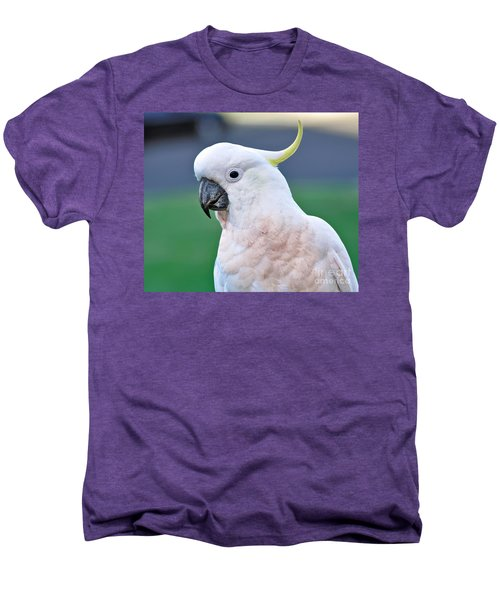 Australian Birds - Cockatoo Men's Premium T-Shirt by Kaye Menner