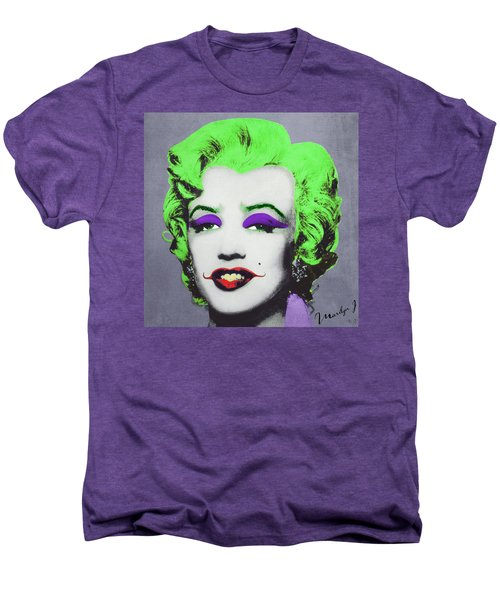Joker Marilyn Men's Premium T-Shirt by Filippo B