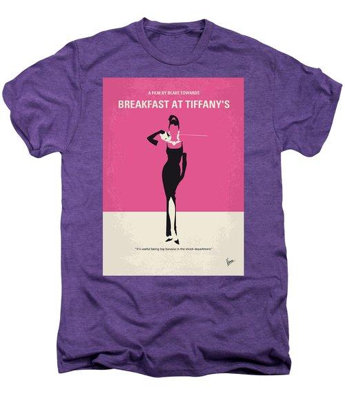 No204 My Breakfast At Tiffanys Minimal Movie Poster Men's Premium T-Shirt by Chungkong Art