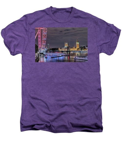 Westminster - London Men's Premium T-Shirt by Joana Kruse