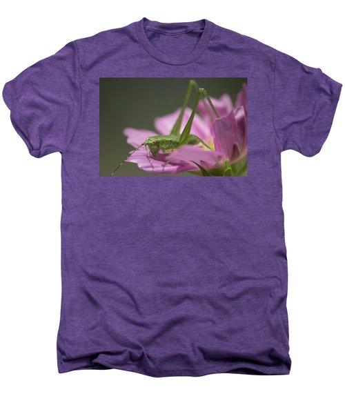Flower Hopper Men's Premium T-Shirt by Michael Eingle