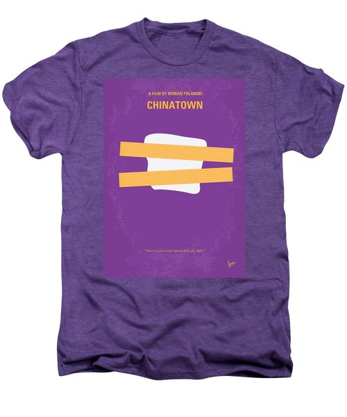 No015 My Chinatown Minimal Movie Poster Men's Premium T-Shirt by Chungkong Art