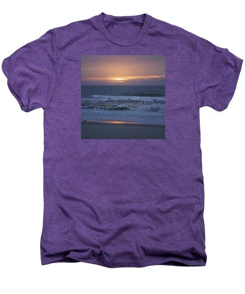 Office View Men's Premium T-Shirt by Betsy Knapp