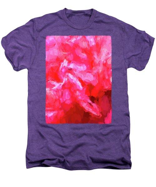 Pink Petals Men's Premium T-Shirt by Jackie VanO