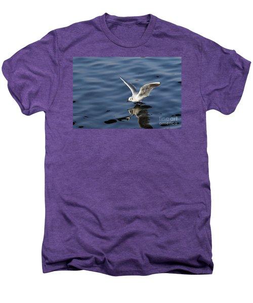 Walking On Water Men's Premium T-Shirt by Michal Boubin