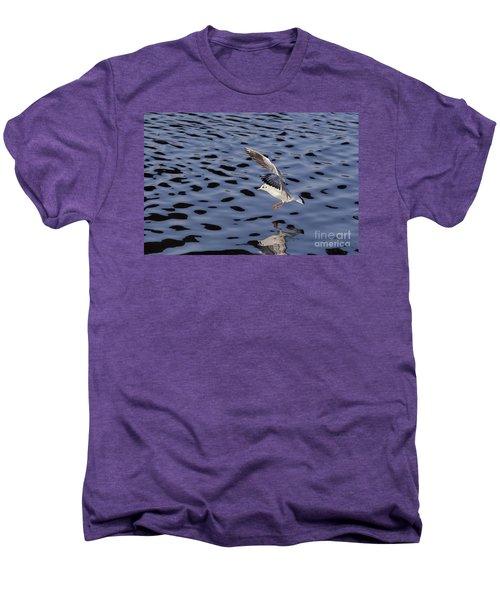 Water Alighting Men's Premium T-Shirt by Michal Boubin