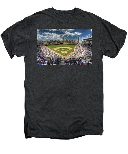 0234 Wrigley Field Men's Premium T-Shirt by Steve Sturgill
