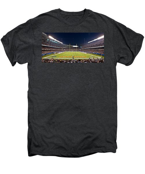 0587 Soldier Field Chicago Men's Premium T-Shirt by Steve Sturgill