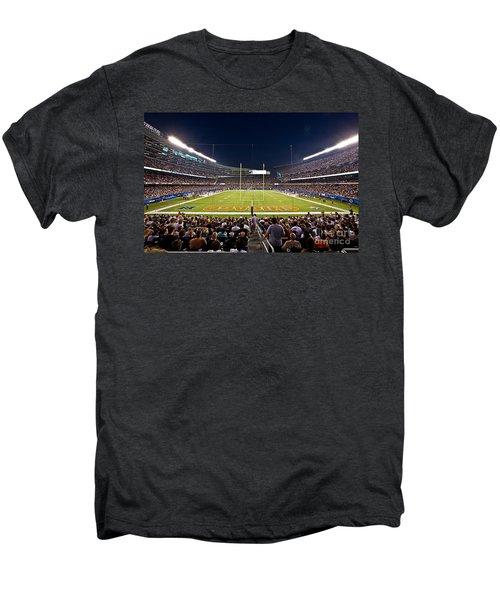 0588 Soldier Field Chicago Men's Premium T-Shirt by Steve Sturgill