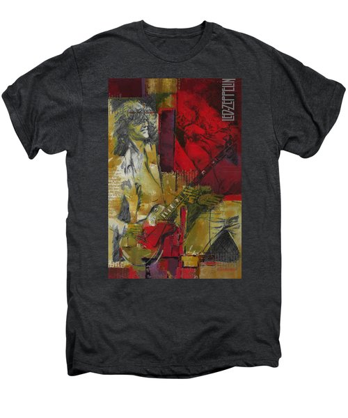 Led Zeppelin  Men's Premium T-Shirt by Corporate Art Task Force