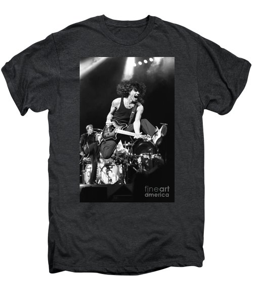 Van Halen - Eddie Van Halen Men's Premium T-Shirt by Concert Photos