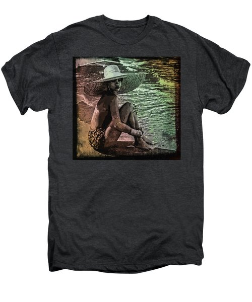 Rihanna Men's Premium T-Shirt by Svelby Art