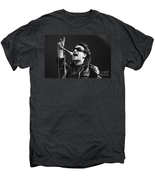 U2 - Bono Men's Premium T-Shirt by Concert Photos