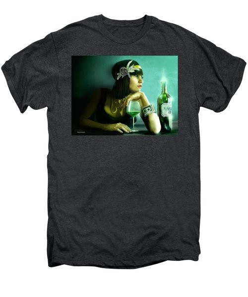 Absinthe Men's Premium T-Shirt by Jason Longstreet