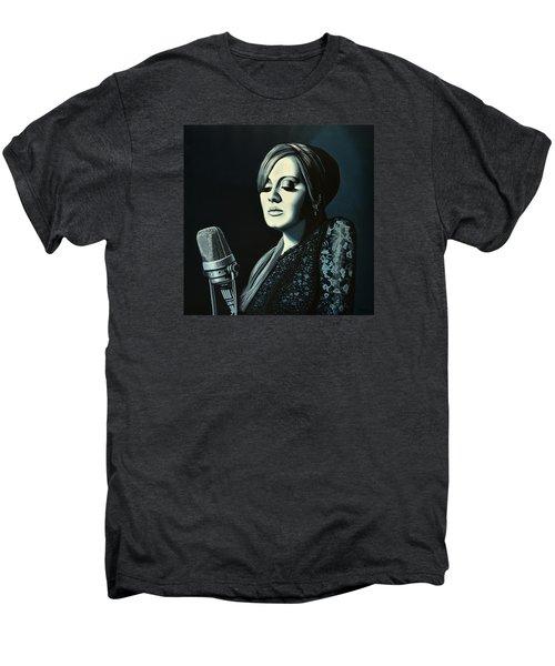 Adele Skyfall Painting Men's Premium T-Shirt by Paul Meijering