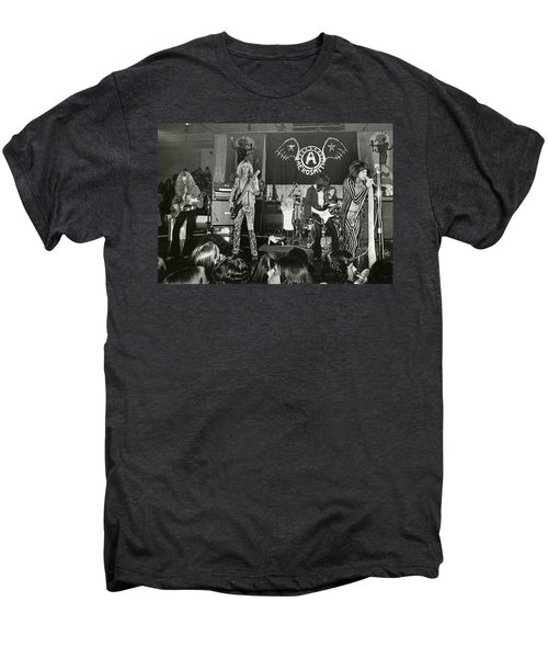 Aerosmith - Aerosmith Tour 1973 Men's Premium T-Shirt by Epic Rights