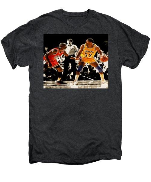 Air Jordan On Magic Men's Premium T-Shirt by Brian Reaves