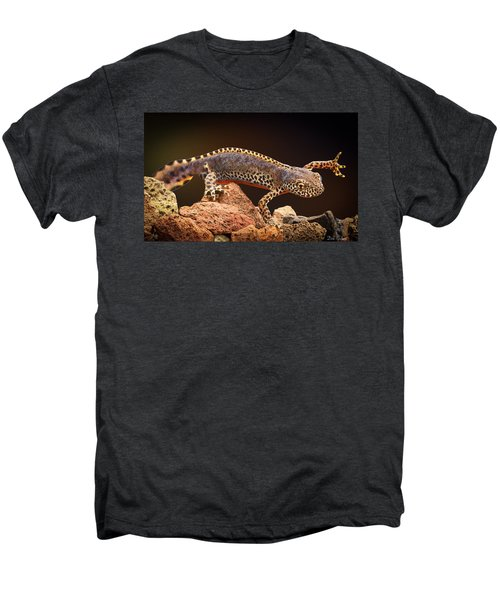 Alpine Newt Men's Premium T-Shirt by Dirk Ercken