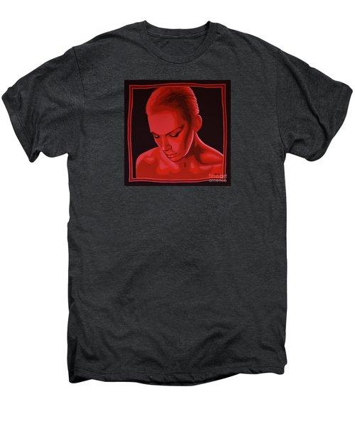 Annie Lennox Men's Premium T-Shirt by Paul Meijering