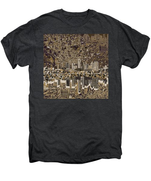 Austin Texas Skyline 5 Men's Premium T-Shirt by Bekim Art