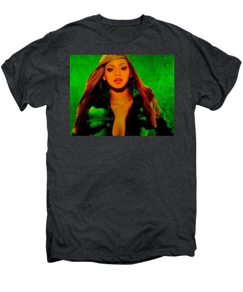 Beyonce II Men's Premium T-Shirt by Brian Reaves
