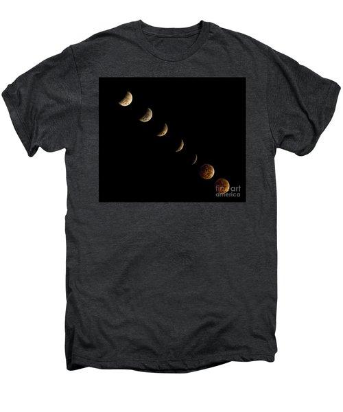 Blood Moon Men's Premium T-Shirt by James Dean