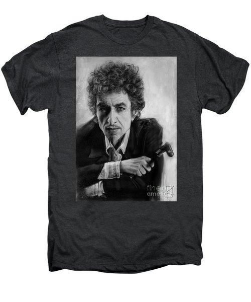 Bob Dylan Men's Premium T-Shirt by Andre Koekemoer