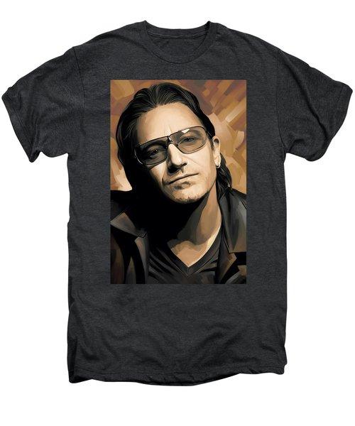 Bono U2 Artwork 2 Men's Premium T-Shirt by Sheraz A