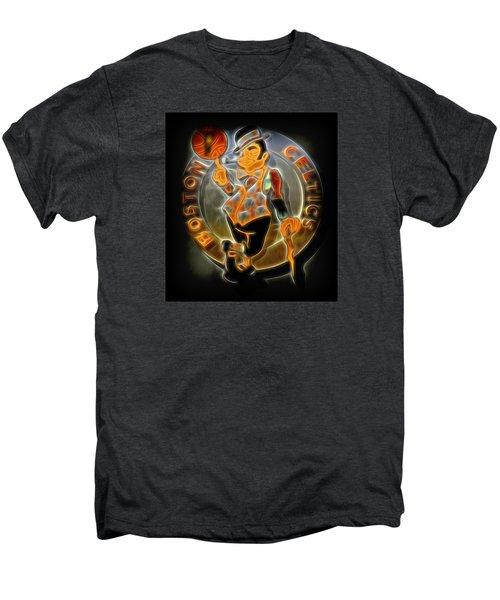 Boston Celtics Logo Men's Premium T-Shirt by Stephen Stookey