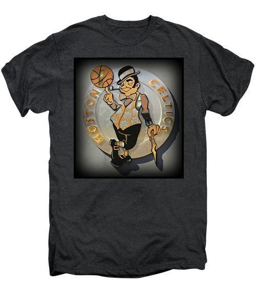 Boston Celtics Men's Premium T-Shirt by Stephen Stookey